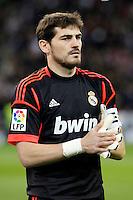 Iker Casillas during La Liga Match. December 01, 2012. (ALTERPHOTOS/Caro Marin)