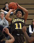 Ferndale at Bloomfield Hills Lahser, Girls Varsity Basketball, 1/17/13