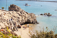 Corona Del Mar Beach in Newport Beach California