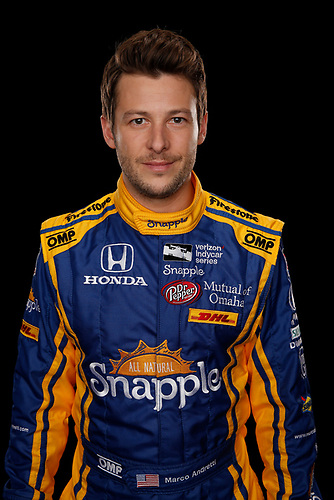 2 February, 2016, Indianapolis, Indiana USA<br /> Marco Andretti<br /> ©2016, Michael L. Levitt<br /> LAT Photo USA