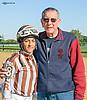 Carol Cedeno & Irwin winning at Delaware Park on 10/8/15