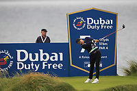 Jeunghun Wang (KOR) on the 7th tee during Round 2 of the Irish Open at LaHinch Golf Club, LaHinch, Co. Clare on Friday 5th July 2019.<br /> Picture:  Thos Caffrey / Golffile<br /> <br /> All photos usage must carry mandatory copyright credit (© Golffile | Thos Caffrey)