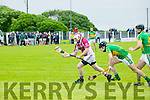 In Action Causeway's Alan Whyte and Lixnaw's Pat Corridon and Willie O'Connor   at the County Championship Hurling Round 1 Causeway V Lixnaw   at the Kilmoyley GAA ground on Sunday