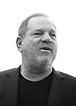 (EDITORS NOTE: Image has been converted to black and white.) Producer Harvey Weinstein attending the 'Finding Neverland'  Press Sneak Preview at the New 42nd Street Studios on February 26, 2015 in New York City.