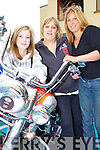 Lauren, Amy and Rosalind Barton Barradubh checking out the bikes at the Irish Motor Bike rally in the Gleneagle Hotel Killarney on Saturday     Copyright Kerry's Eye 2008