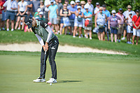 Sung Hyun Park (KOR) barely misses her birdie putt on 1 during round 4 of the 2018 KPMG Women's PGA Championship, Kemper Lakes Golf Club, at Kildeer, Illinois, USA. 7/1/2018.<br /> Picture: Golffile | Ken Murray<br /> <br /> All photo usage must carry mandatory copyright credit (&copy; Golffile | Ken Murray)