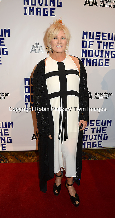 Deborra-Lee Furness  attends the Museum of the Moving Image Salute to Hugh Jackman on December 11,2 012 at Cipriani Wall Street in New York City.