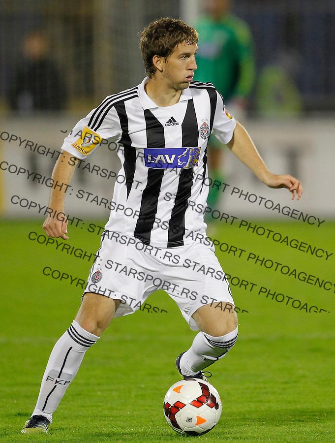 Fudbal Super liga season 2013-2014<br /> Partizan v OFK Beograd<br /> Darko Brasanac<br /> Beograd, 21.09.2013.<br /> foto: Srdjan Stevanovic/Starsportphoto &copy;