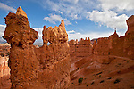 Hoodoos inside Bryce Canyon National Park in the late fall.