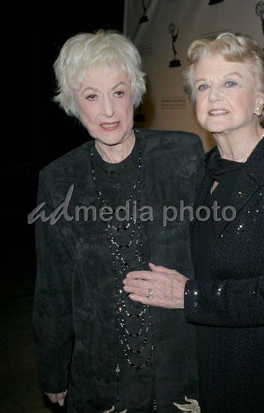 Angela Lansbury and Bea Arthur  arrive at the The Academy of Television Arts Sciences Hall Fame Ceremony