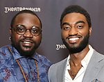 Brian Tyree Henry and Jelani Alladin attends the 63rd Annual Drama Desk Awards Nominees Reception on May 9, 2018 at Friedmans in the Edison Hotel in New York City.
