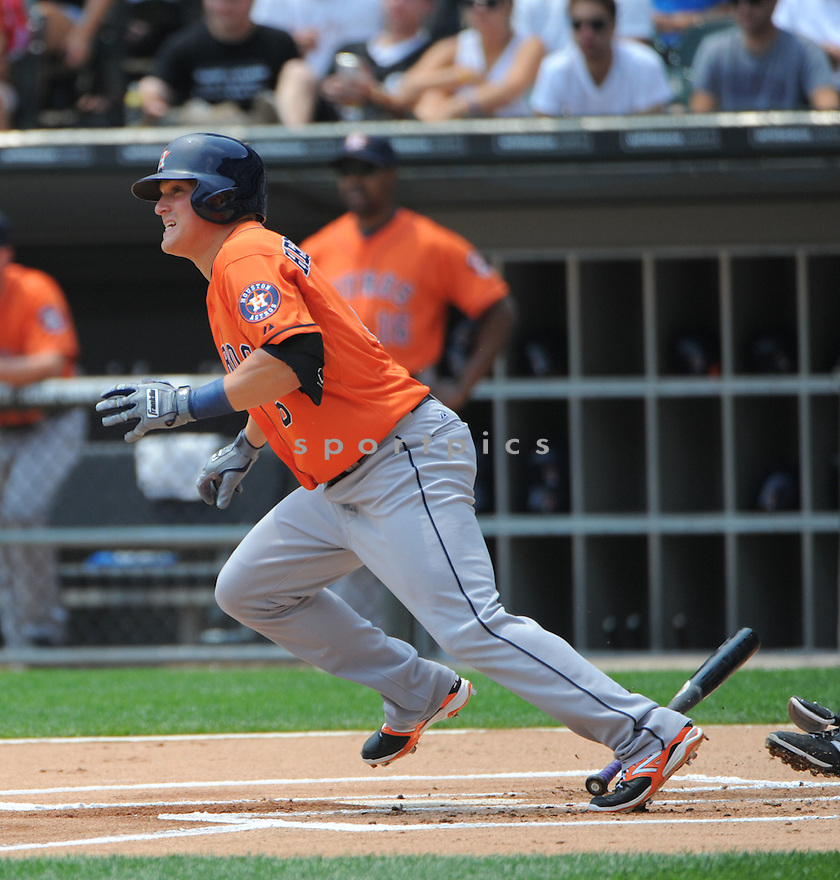 Houston Astros Enrique Hernandez (6) during a game against the Chicago White Sox on July 20, 2014 at US Cellular Field in Chicago, IL. The Astros beat the White Sox 11-7.