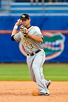 June 06, 2009:  NCAA Super Regional: Florida Gators vs Southern Miss Golden Eagles:  Southern Miss IF Brandon McArthur during game one of Super Regional action at Alfred A. McKethan Stadium on the campus of University of Florida in Gainesville.   Southern Miss defeated Florida 9-7 to take a 1-0 lead in the series............