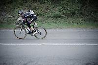 Warren Barguil (FRA/Giant-Alpecin) downhill<br /> <br /> 101th Li&egrave;ge-Bastogne-Li&egrave;ge 2015