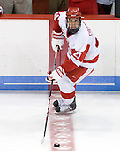 Sean Escobedo (BU - 21) - The Boston University Terriers defeated the visiting University of Toronto Varsity Blues 9-3 on Saturday, October 2, 2010, at Agganis Arena in Boston, MA.