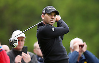 Sergio Garcia - BMW PGA Golf Practice at Wentworth Golf Course - 21/05/13 - MANDATORY CREDIT: Rob Newell/TGSPHOTO - Self billing applies where appropriate - 0845 094 6026 - contact@tgsphoto.co.uk - NO UNPAID USE