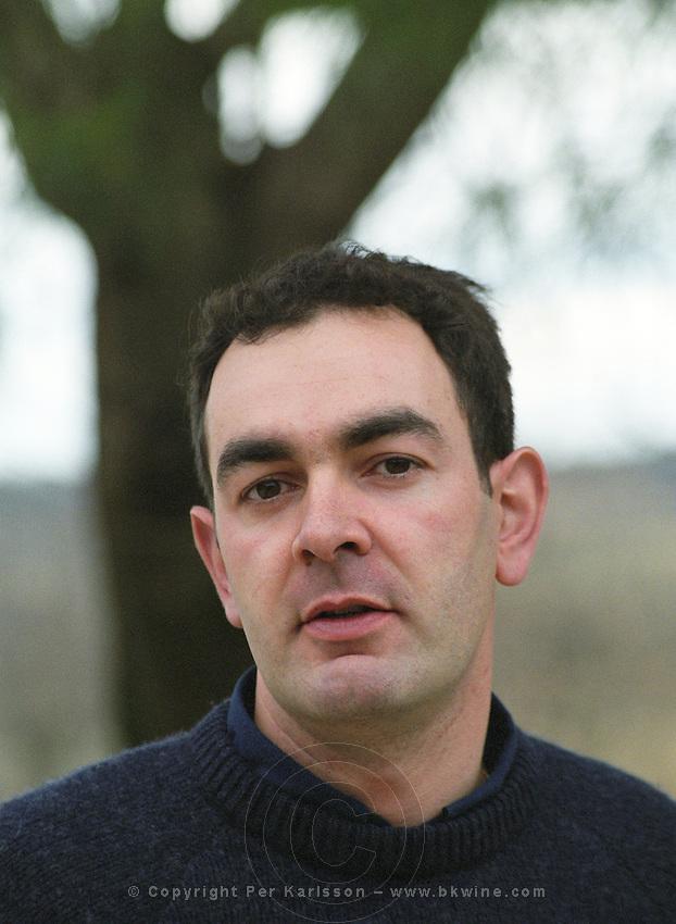 Emmanuel Floutier Domaine du Grand Chemin, Vin de Pays d'Oc. in Savignargues. Languedoc. Owner winemaker. France. Europe.
