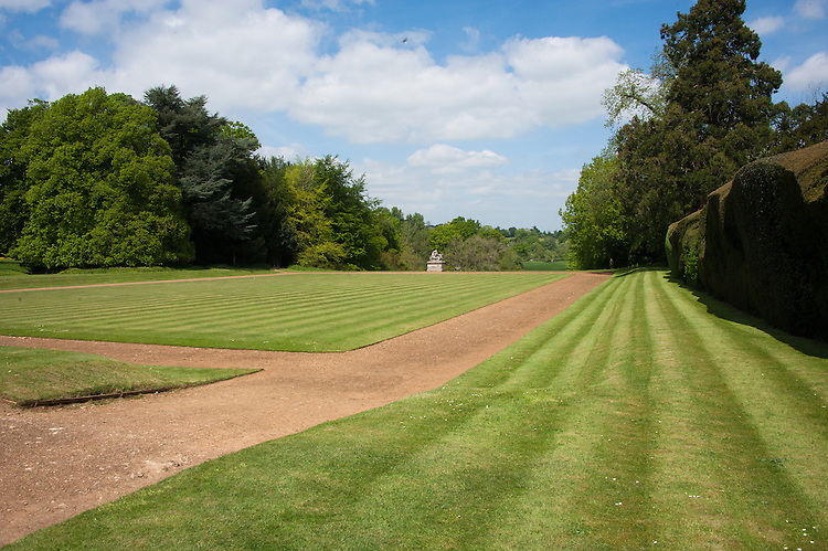 Bowling Green in front of main house, Rousham.