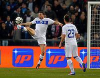 Andrea Barzagli (ITA), during the friendly match Italy against USA at the Stadium Luigi Ferraris at Genova Italy on february the 29th, 2012.