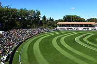 General view of University Oval during the 4th ODI Blackcaps v England. University Oval, Dunedin, New Zealand. Wednesday 7 March 2018. ©Copyright Photo: Chris Symes / www.photosport.nz