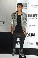 "Jaden Smith  attending the ""Men In Black 3"" New York Premiere, held at the Ziegfeld Theater in New York City on 23.05.2012.credit: Jennifer Graylock/face to face.- No Italy, UK, Australia, France -"