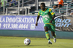 14 September 2013: Tampa Bay's Evans Frimpong (GHA). The Carolina RailHawks played the Tampa Bay Rowdies at WakeMed Stadium in Cary, North Carolina in a North American Soccer League Fall 2013 Season regular season game. The game ended in a 2-2 tie.