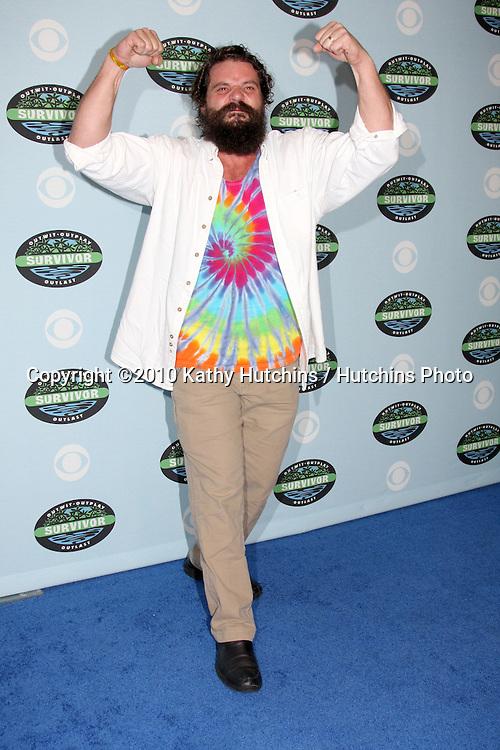 "Rupert Boneham.arrivng at the ""Survivor"" 10 Year Anniverary Party .CBS Television CIty.Los Angeles, CA.January 9, 2010.©2010 Kathy Hutchins / Hutchins Photo...."