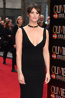 Gemma Arterton arrives for the Olivier Awards 2015 at the Royal Opera House Covent Garden, London. 12/04/2015 Picture by: Steve Vas / Featureflash