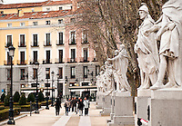 Plaza de Oriente, Madrid, Spain