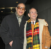 NEW YORK, NY - JANUARY 30: Michael York and Joel Grey at NBC's Today Show in New York City. January 30, 2013. Credit: RW/MediaPunch Inc. /NortePhoto