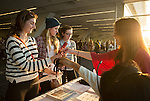 Registration for Powershift 2013 in Pittsburgh, PA. (Photo by: Robert van Waarden)