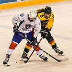 07.01.2020, BLZ Arena, Füssen / Fuessen, GER, IIHF Ice Hockey U18 Women's World Championship DIV I Group A, <br /> Deutschland (GER) vs Frankreich (FRA), <br /> im Bild Emma Nonnenmacher (FRA, #24), Paulina Gschwandtner (GER, #22)<br /> <br /> Foto © nordphoto / Hafner
