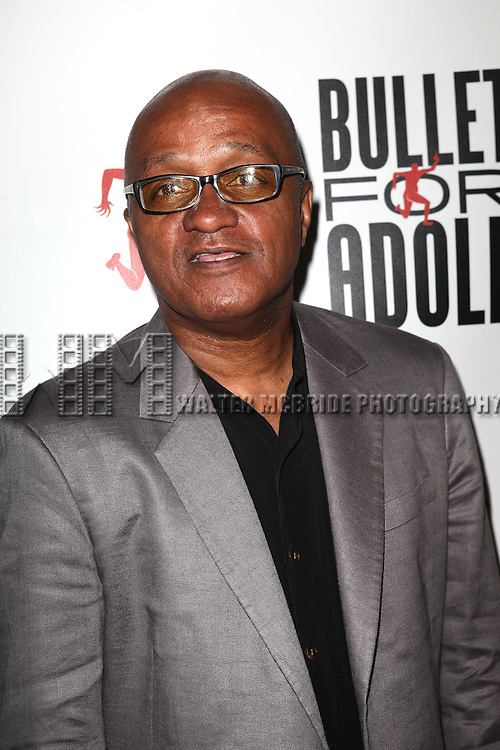 Writer Frankie Hyman attending the Opening Night Performance of 'Bullet For Adolf' at the New World Stages in New York City on 8/8/2012 *   © Walter McBride / WM Photography