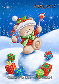 Roger, CHRISTMAS ANIMALS, WEIHNACHTEN TIERE, NAVIDAD ANIMALES, paintings+++++,GBRM2217,#xa#