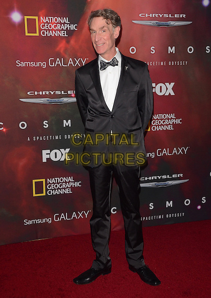 04 March 2014 - Los Angeles, California - Bill Nye, Bill Nye the Science Guy.  &quot;Cosmos: A Spacetime Odyssey&quot; Premiere Screening at The Greek Theater in Los Angeles. <br /> CAP/ADM/BT<br /> &copy;Birdie Thompson/AdMedia/Capital Pictures