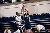 10/23/10, Fullerton Ca.; CSUF Titan man's basketball had their annual Blue White scrimmage showcasing the current squad.