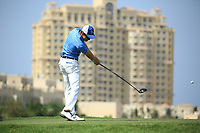 Daan Huizing (NED) during round 2, Ras Al Khaimah Challenge Tour Grand Final played at Al Hamra Golf Club, Ras Al Khaimah, UAE. 01/11/2018<br /> Picture: Golffile | Phil Inglis<br /> <br /> All photo usage must carry mandatory copyright credit (&copy; Golffile | Phil Inglis)