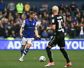1st October 2017, Hillsborough, Sheffield, England; EFL Championship football, Sheffield Wednesday versus Leeds United; Tom Lees of Sheffield Wednesday looks for options for the pass