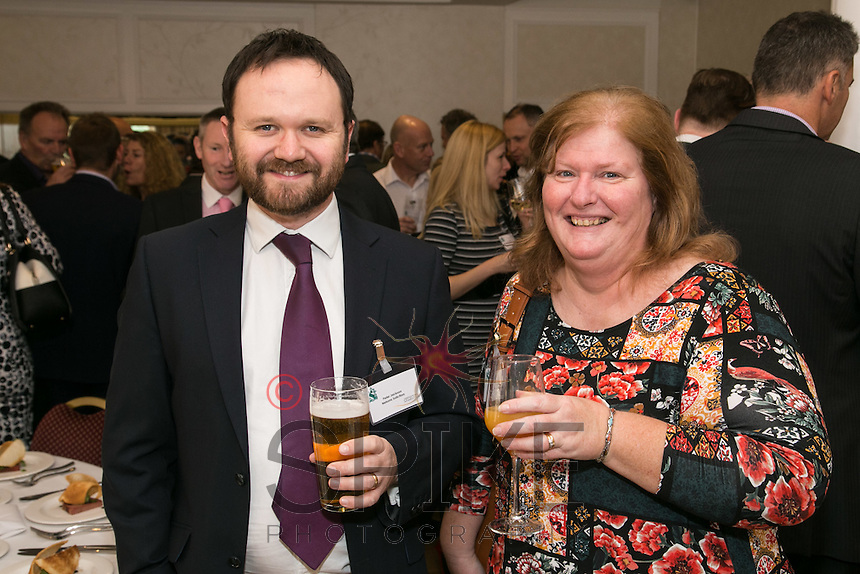Peter Jackson of Nelsons with Yvonne Fowler of Business in the Community