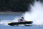NELSON, NEW ZEALAND - FEBRUARY 23:  Powerboat Races at Lake Rotoiti on February 23 2019 in Nelson, New Zealand. (Photo by: Evan Barnes Shuttersport Limited)