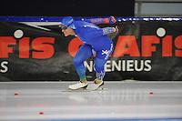 SCHAATSEN: HEERENVEEN: 19-11-2016, IJsstadion Thialf, KNSB trainingswedstrijd, Koen Verweij, ©foto Martin de Jong
