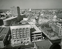 1961 April 11..Redevelopment.Downtown North (R-8)..Downtown Progress..North View from VNB Building..HAYCOX PHOTORAMIC INC..NEG# C-61-5-66.NRHA#..