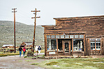 Bodie store and warehouse, the ghost town of Bodie, California, State Historic Park.