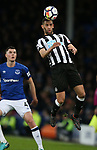 Islam Slimani of Newcastle United during the premier league match at Goodison Park Stadium, Liverpool. Picture date 23rd April 2018. Picture credit should read: Simon Bellis/Sportimage