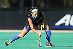 26 September 2014: Duke's Amanda Kim. The Duke University Blue Devils hosted the University of California Bears at Jack Katz Stadium in Durham, North Carolina in a 2014 NCAA Division I Field Hockey match. Duke won the game 2-0.