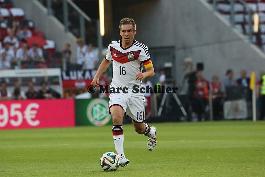 Phillip Lahm (D) - Deutschland vs. Armenien in Mainz