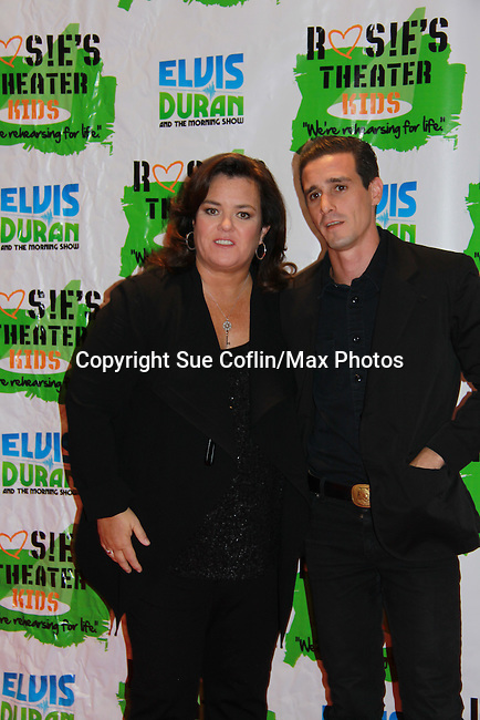 "Actor James Ransone poses with All My Children's Rosie O'Donnell ""Naomi - The Maid"" hosted Rosie's Building Dreams for Kids Gala benefitting Rosie's Theater Kids on September 19, 2011 at New York Marriott Marquis, New York City, New York. (Photo by Sue Coflin/Max Photos)"