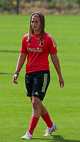 20200627 - TUBIZE , Belgium : Melissa Tom pictured during a training session of the Belgian Red Flames U17, on the 27 th of June 2020 in Tubize.  PHOTO SEVIL OKTEM| SPORTPIX.BE
