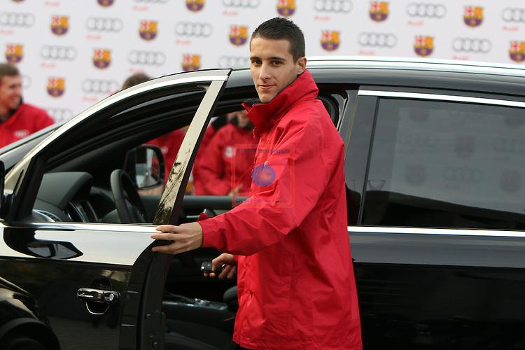 Christian Tello. AUDI-Premium Partner FC Barcelona 2012.