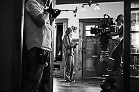 Hereditary (2018) <br /> Behind the scenes photo of Toni Collette  <br /> *Filmstill - Editorial Use Only*<br /> CAP/MFS<br /> Image supplied by Capital Pictures